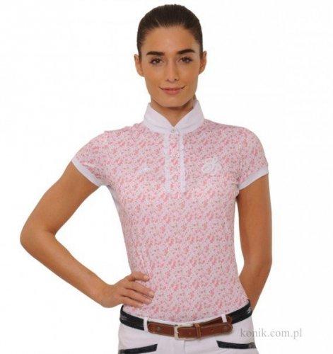 Koszula konkursowa CAMILLA FLOWER pink - SPOOKS