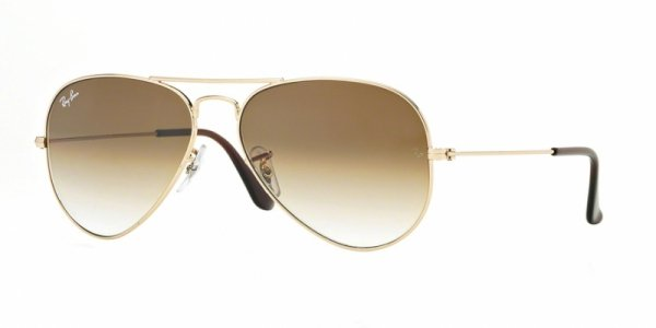 OKULARY RAY-BAN® AVIATOR  RB 3025 001/51 62