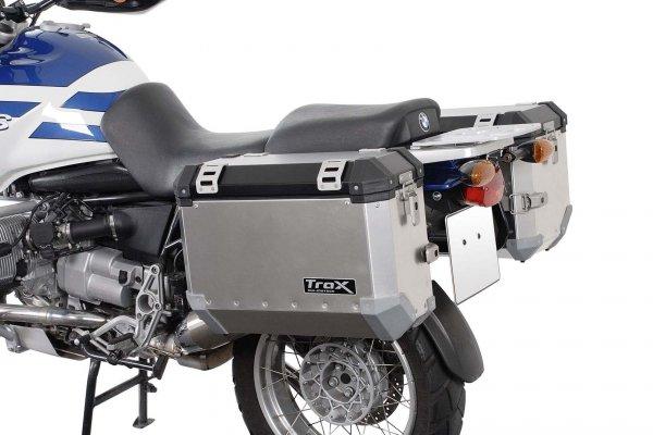 STELAŻ EVO NA KUFRY BOCZNE BMW R 1100/1150 GS BLACK SW-MOTECH