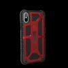 UAG Monarch - obudowa ochronna do iPhone X (czerwona)