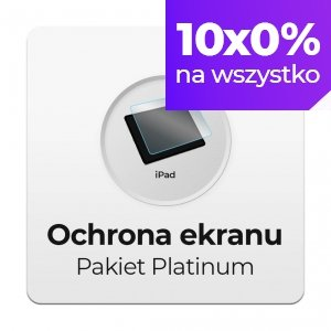 Ochrona Ekranu Pakiet Platinum do Apple iPad