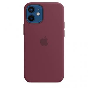 Apple Silikonowe etui z MagSafe do iPhone'a 12 / 12 Pro – dojrzała śliwka
