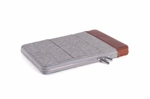 KMP Etui do iPad Pro 9,7 / Air / Air2 - Gray/Brown (szary/brązowy)