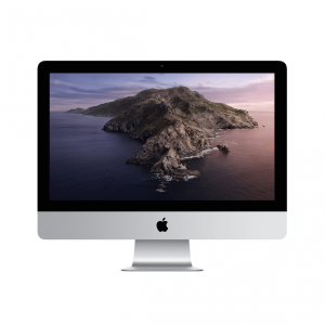 iMac 21,5 / i5 2,3GHz / 8GB / 256GB SSD / Iris Plus Graphics 640 / Gigabit Ethernet / macOS / Silver (srebrny) MHK03ZE/A - nowy model