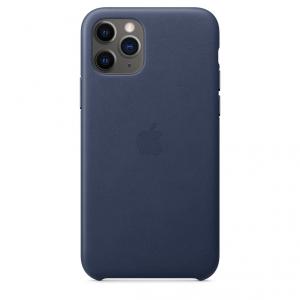 Apple Skórzane etui do iPhone'a 11 Pro – nocny błękit