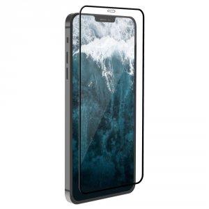 JCPAL Preserver (czarna ramka) - Szkło ochronne do iPhone 12 / 12 Pro