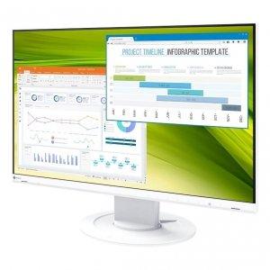 Monitor EIZO EV2360-WT LCD 22,5 z regulowaną stopką Biały