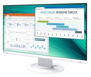 Monitor EIZO EV2460 23 LCD z regulowaną stopką Biały