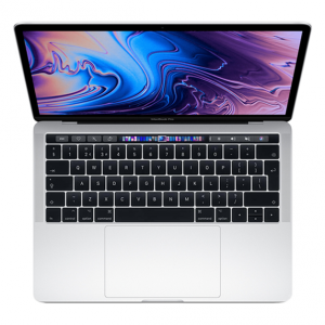 MacBook Pro 13 Retina Touch Bar i7 1,7GHz / 16GB / 128GB SSD / Iris Plus Graphics 645 / macOS / Silver (2019)
