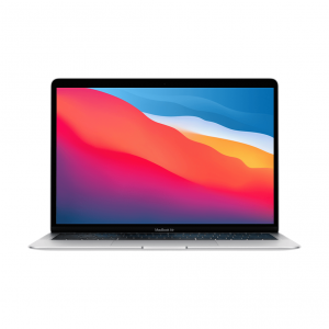MacBook Air z Procesorem Apple M1 - 8-core CPU + 8-core GPU /  16GB RAM / 512GB SSD / 2 x Thunderbolt / Silver