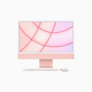Apple iMac 24 4,5K Retina M1 8-core CPU + 8-core GPU / 8GB / 256GB SSD / Różowy (Pink) - 2021