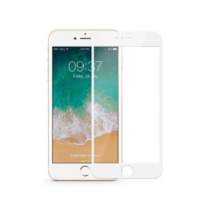 JCPAL Szkło ochronne do iPhone SE (2020) / iPhone 8 / iPhone 7 - White (biała ramka)