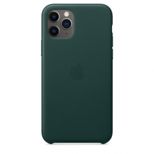 Apple Skórzane etui do iPhone'a 11 Pro – leśna zieleń
