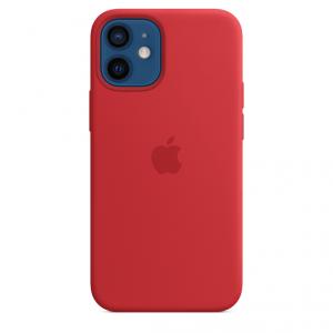 Apple Silikonowe etui z MagSafe do iPhone'a 12 mini - (PRODUCT)RED