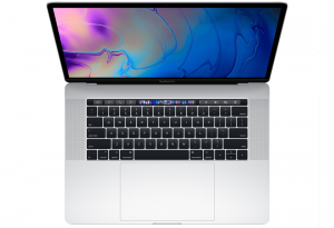 MacBook Pro 15 Retina True Tone i9-8950HK / 16GB / 1TB SSD / Radeon Pro Vega 20 / macOS High Sierra / Silver
