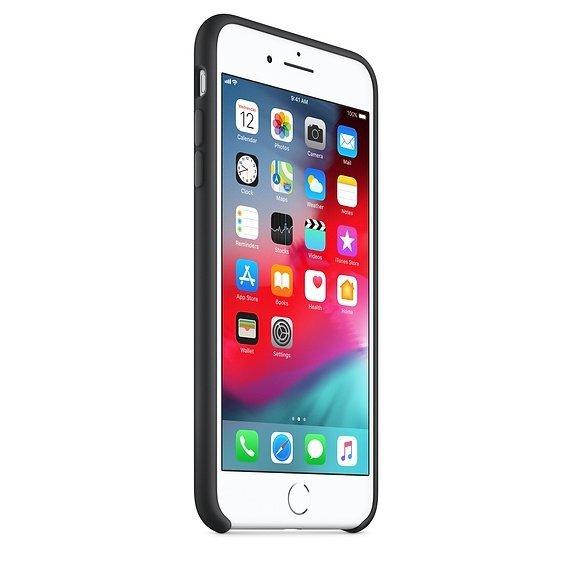 Apple Silicon Case Etui do iPhone 7/8 Plus Black (czarny)