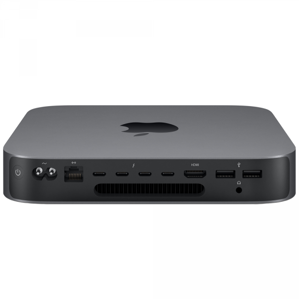 Mac mini i3-8100 / 64GB / 1TB SSD / UHD Graphics 630 / macOS / Gigabit Ethernet / Space Gray