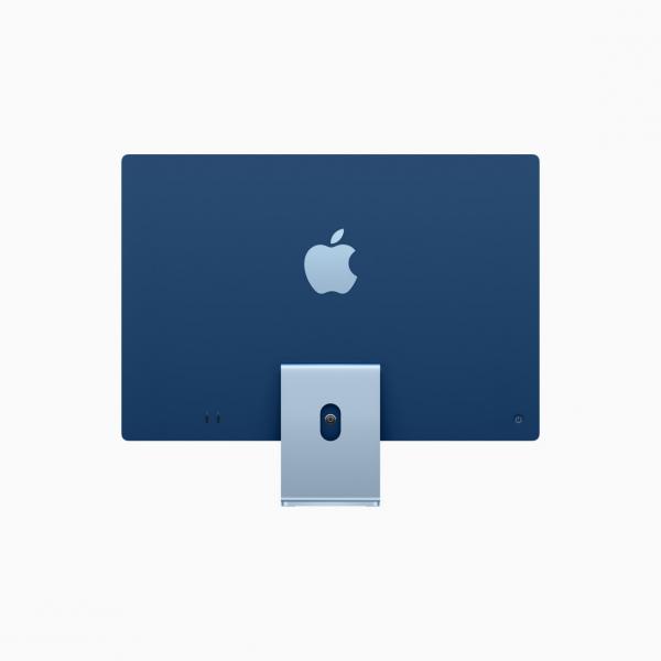 """Apple iMac 24"""" 4,5K Retina M1 8-core CPU + 7-core GPU / 8GB / 256GB SSD / Niebieski (Blue) - 2021"""