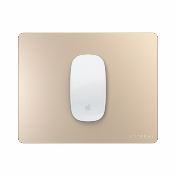 Satechi Aluminium MousePad dla Apple Magic Mouse 2 Gold