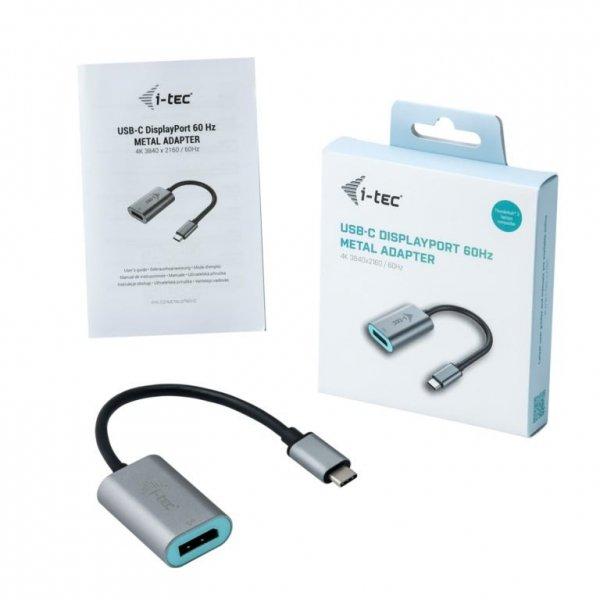 i-tec USB-C Metal Display Port Adapter 4K/60Hz