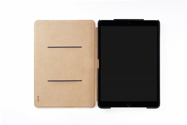 KMP Bookcase - Etui z klapką na iPad Pro 10,5 / iPad Air 10,5 Manhattan Black (czarny)