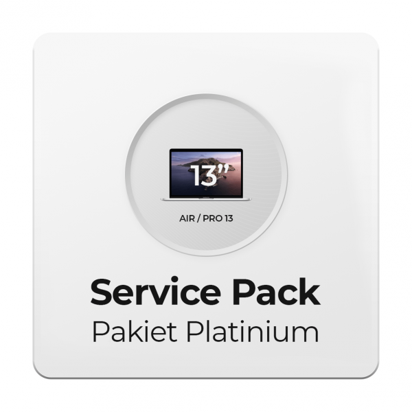 Service Pack - Pakiet Platinium 3Y do Apple MacBook Air i Pro 13