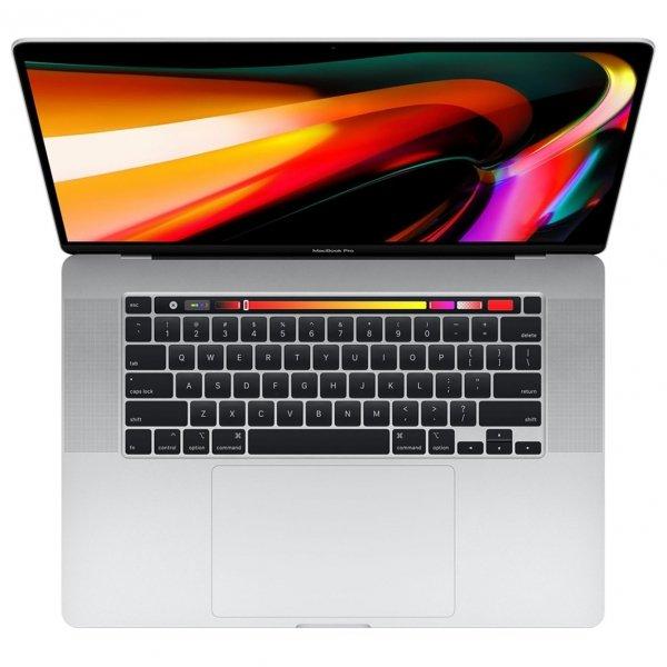 MacBook Pro 16 Retina Touch Bar i9-9880H / 64GB / 2TB SSD / Radeon Pro 5500M 4GB / macOS / Silver (srebrny)