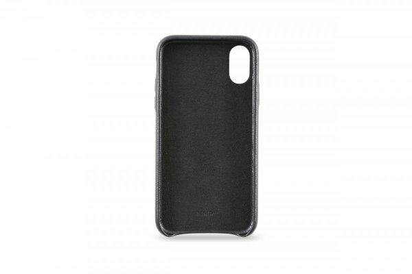 KMP Etui skórzane do iPhone X (czarny)