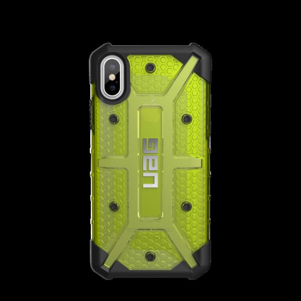 UAG Plasma - obudowa ochronna do iPhone X (źółta przeźroczysta)