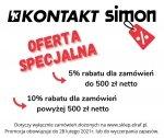 Oferta specjalna na produkty KONTAKT Simon