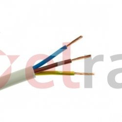 Przewód warsztatowy H05VV-F (OWY) 3x1,5 żo 300/500V /bębnowy/