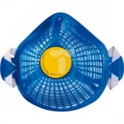 Półmaska wielokrotnego użytku z filtrem FFP2 niebieska, wymienny filtr Spider Mask P2 M1200SM