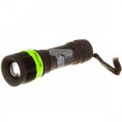 Latarka LED 1W 30lm /z zoomem/ P3853