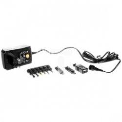 Zasilacz uniwersalny 100-240V 3-12V 1,5A /9 końcówek/ 1,8m MW3R15GS N3012