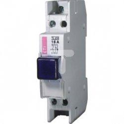Przycisk modułowy 16A 1Z 1R z lampką sygnalizacyjną niebieską TL 216 002422224