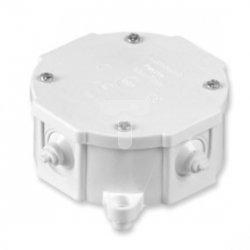 Puszka hermetyczna 4x2,5mm2 60x60x30 IP44 biała PHB