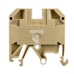 Złączka szynowa 2-przewodowa sprężynowa 2,5mm2 beżowa Ex SAK 2.5/EN 0218660000