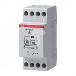 Transformator dzwonkowy modułowy 230VAC/4-8-12VAC 15VA TM15/12 2CSM151021R0801