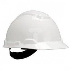 Hełm ochronny H-701 ze standardową więźbą bez wentylacji biały XA007708713