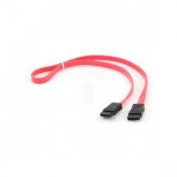 Kabel SATA DATA III (6GB/S) 50cm czerwony CC-SATA-DATA