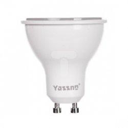 Żarówka LED GU10 5W (PAR16) 420lm 6000K 220-240V YASSNO YB-01-019