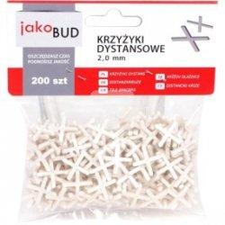 Krzyżyki dystansowe do glazury 2mm M-01-003 /200szt./