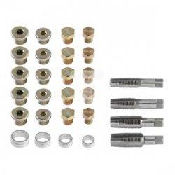 Zestaw naprawczy korków miski olejowej, 64 elementów 11-910