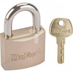 Kłódka mosiężna 70 mm, 3 klucze 90U313