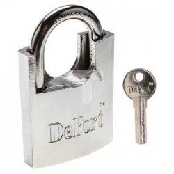 Kłódka 50 mm chronione jarzmo hartowane 3 klucze 90U342