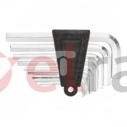 Klucze sześciokątne 1.5-10 mm (krótkie)  zestaw 9 elementów 35D050