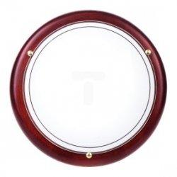 Plafoniera Kobi średnia mahoń P1/2C 1x60W E27 fi300mm E14020100608