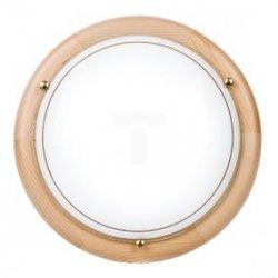 Plafoniera Kobi mała sosna P1/2C 1x60W E27 fi260mm E14020100627