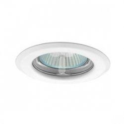 Oczko halogenowe 12V MR16 GU5,3 50W stalowe, nieregulowane, białe AXL 2114 PV16P-W GXPP003