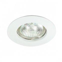 Oczko halogenowe MR16 GU5,3 50W odlewane, nieregulowane, biała AXL 5514 PO16P-W GXPL001